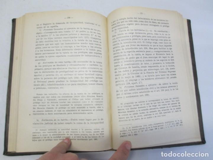 Libros de segunda mano: JOSE CASTAN TOBEÑAS. DERECHO CIVIL ESPAÑOL, COMUN Y FLORAL. 6 LIBROS. EDITORIAL REUS - Foto 71 - 153018666