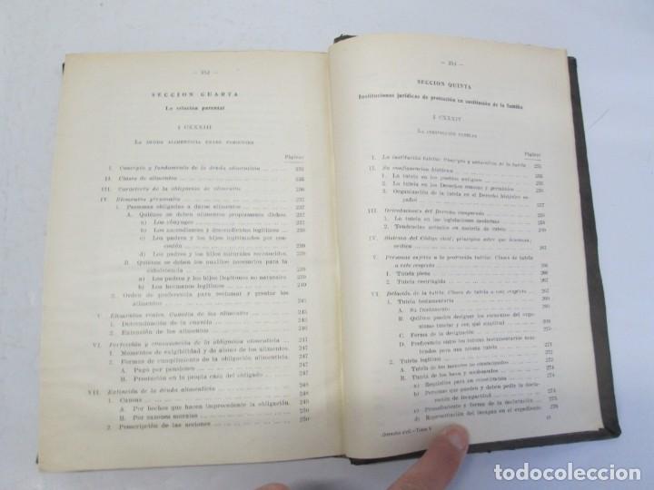 Libros de segunda mano: JOSE CASTAN TOBEÑAS. DERECHO CIVIL ESPAÑOL, COMUN Y FLORAL. 6 LIBROS. EDITORIAL REUS - Foto 72 - 153018666