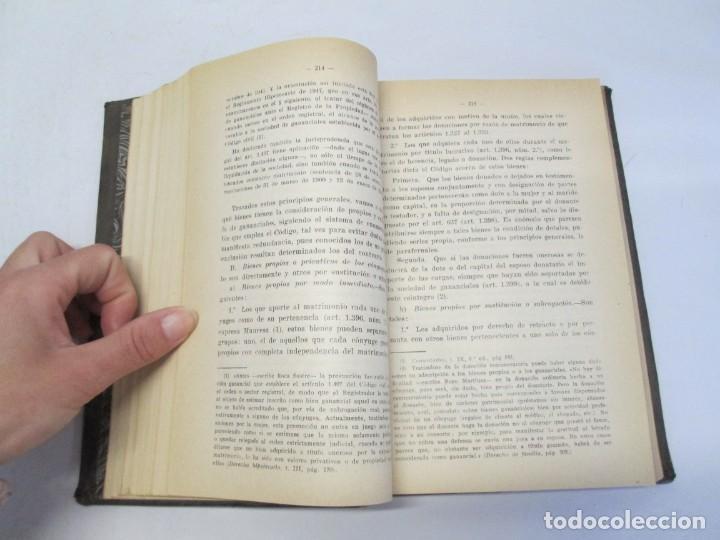 Libros de segunda mano: JOSE CASTAN TOBEÑAS. DERECHO CIVIL ESPAÑOL, COMUN Y FLORAL. 6 LIBROS. EDITORIAL REUS - Foto 77 - 153018666