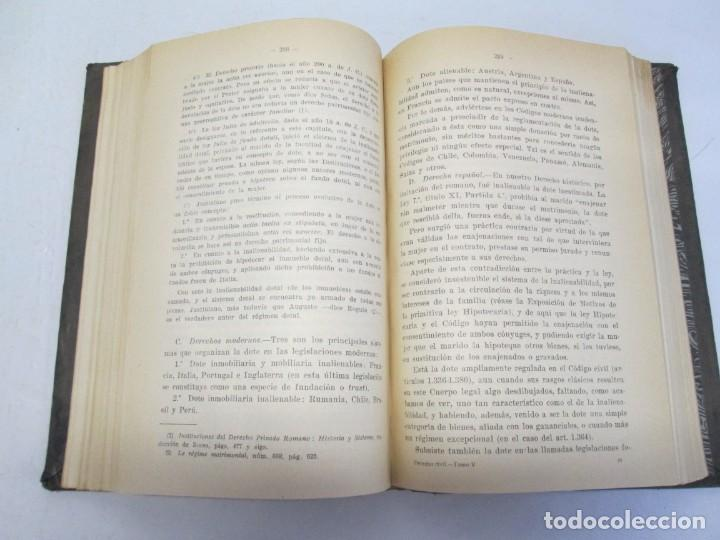 Libros de segunda mano: JOSE CASTAN TOBEÑAS. DERECHO CIVIL ESPAÑOL, COMUN Y FLORAL. 6 LIBROS. EDITORIAL REUS - Foto 78 - 153018666