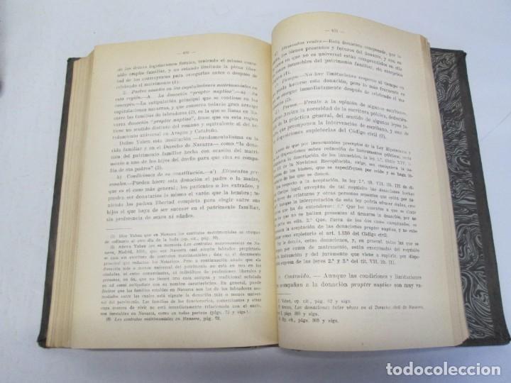 Libros de segunda mano: JOSE CASTAN TOBEÑAS. DERECHO CIVIL ESPAÑOL, COMUN Y FLORAL. 6 LIBROS. EDITORIAL REUS - Foto 79 - 153018666