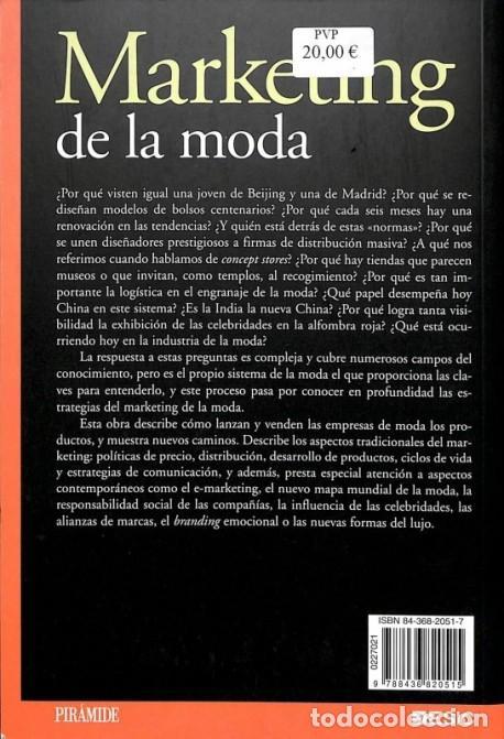 Libros de segunda mano: Marketing De La Moda - Ana Isabel Vázquez Casco - Ediciones Pirámide - Marketing Sectorial - Foto 4 - 154069424