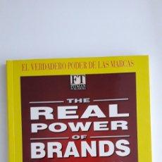 Libros de segunda mano: EL VERDADERO PODER DE LAS MARCAS. STUART CRAINER. LIBRO DE PUBLICIDAD. Lote 154352841