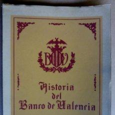 Libros de segunda mano: HISTORIA DEL BANCO DE VALENCIA, 1900-1945. VALENCIA, 1945.. Lote 154385170