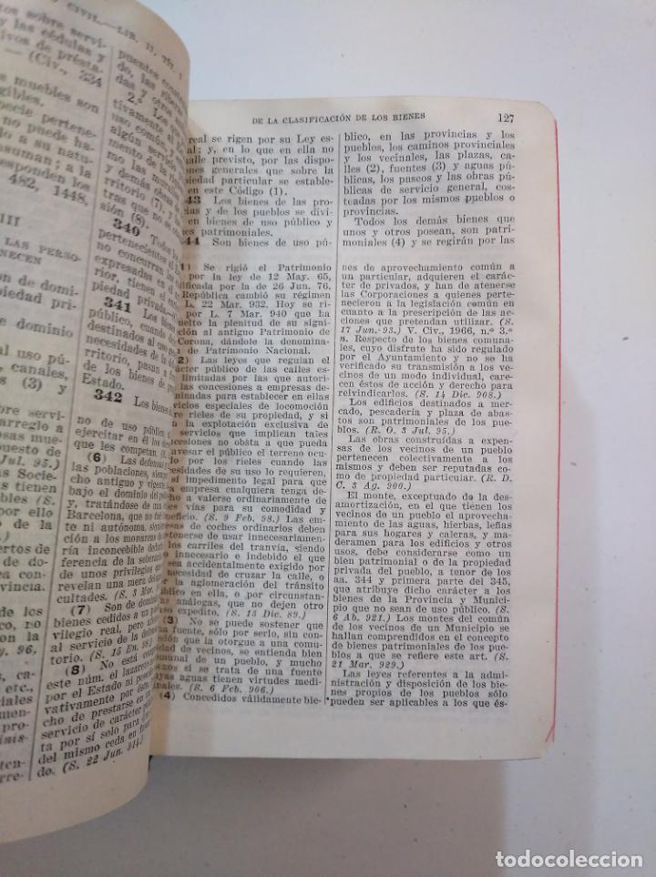 Libros de segunda mano: LEYES CIVILES DE ESPAÑA. - MEDINA Y MARAÑON - INSTITUTO EDITORIAL REUS -. 1943. 2 TOMOS. TDK374 - Foto 3 - 154670794