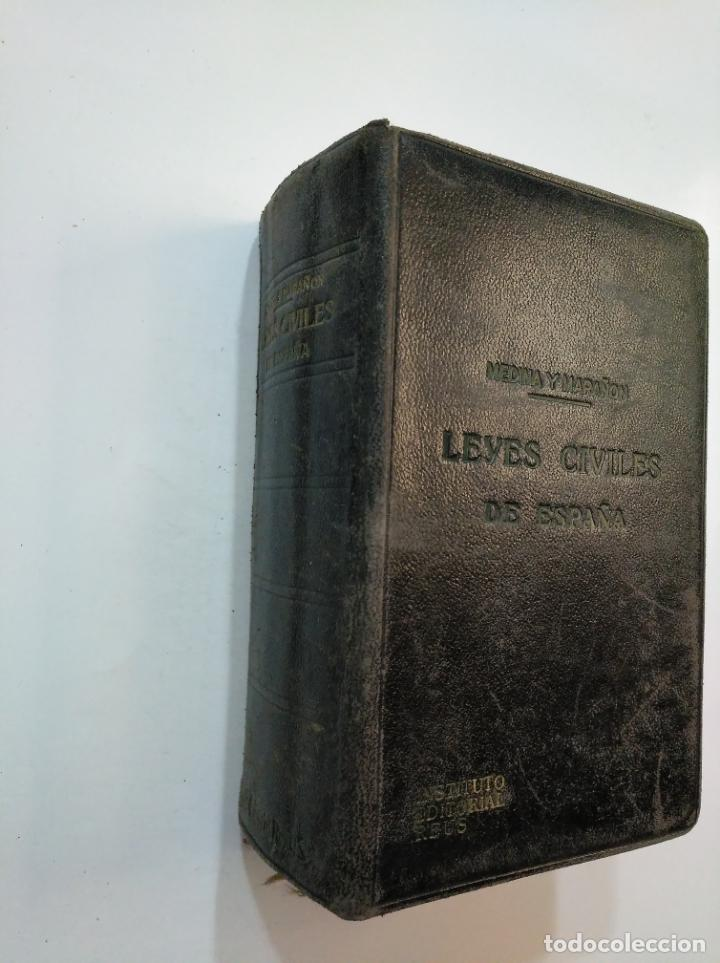 Libros de segunda mano: LEYES CIVILES DE ESPAÑA. - MEDINA Y MARAÑON - INSTITUTO EDITORIAL REUS -. 1943. 2 TOMOS. TDK374 - Foto 8 - 154670794