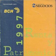 Libros de segunda mano: MANUAL PRACTICO RENTA Y PATRIMONIO.1997. Lote 155589558