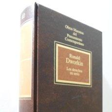 Libros de segunda mano: LOS DERECHOS EN SERIO - DWORKIN, R. M.. Lote 155773346