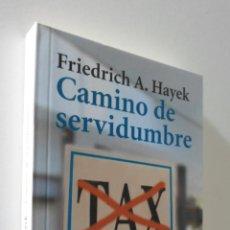 Libros de segunda mano: CAMINO DE SERVIDUMBRE - HAYEK, FRIEDRICH A. VON. Lote 155773702