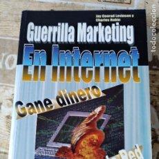 Libros de segunda mano: GANE DINERO A TRAVÉS DE LA RED. Lote 156335814