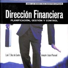 Libros de segunda mano: DIRECCIÓN FINANCIERA.. Lote 156501030