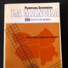 Libros de segunda mano: PANORAMA ECONÓMICO LA MANCHA. Lote 156509549