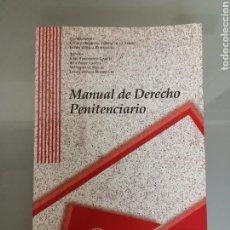 Libros de segunda mano: MANUAL DE DERECHO PENITENCIARIO COLEX UNIV. DE SALAMANCA. Lote 156531061