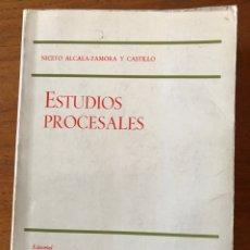 Libros de segunda mano: ESTUDIOS PROCESALES, NICETO ALCALÁ-ZAMORA Y CASTILLO. Lote 156532414