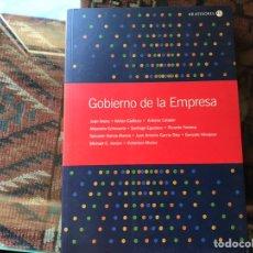 Libros de segunda mano: GOBIERNO DE LA EMPRESA. JUAN ARENA. COMO NUEVO. Lote 158003038
