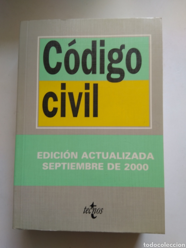 CODIGO CIVIL/TECNOS (Libros de Segunda Mano - Ciencias, Manuales y Oficios - Derecho, Economía y Comercio)