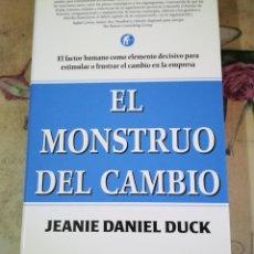 Libros de segunda mano: EL MONSTRUO DEL CAMBIO - JEANIE DANIEL DUCK. Lote 158150518