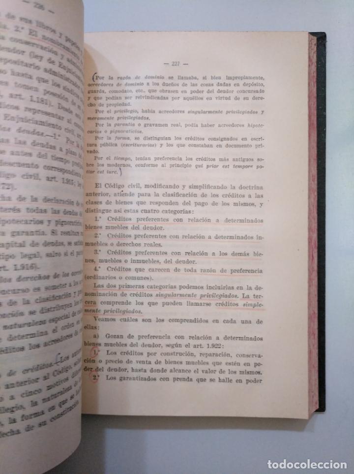 Libros de segunda mano: DERECHO CIVIL ESPAÑOL, COMUN Y FORAL. JOSE CASTAN TOBEÑAS. TOMO TERCERO. EDITORIAL REUS 1954 TDK378 - Foto 2 - 158500446