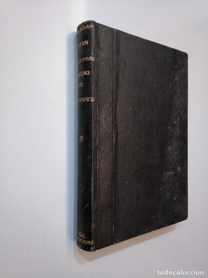 Libros de segunda mano: DERECHO CIVIL ESPAÑOL, COMUN Y FORAL. JOSE CASTAN TOBEÑAS. TOMO TERCERO. EDITORIAL REUS 1954 TDK378 - Foto 4 - 158500446