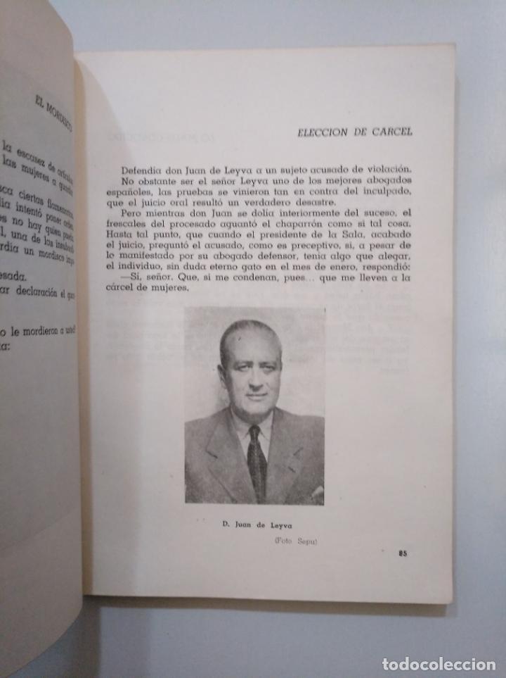 Libros de segunda mano: DESDE LA SALA DE TOGAS. ANÉCDOTAS, CHISPAZOS Y CRÓNICAS DE TRIBUNALES - BESUMAN, RAFAEL. TDK377A - Foto 2 - 158501510