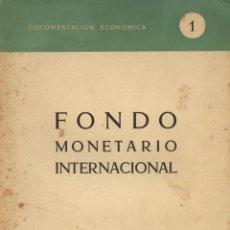 Libros de segunda mano - Fondo Monetario internacional. Madrid: Oficina de Coordinación y Programación Económica, 1959 - 158612186