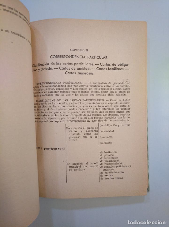 Libros de segunda mano: CURSO PRÁCTICO DE CORRESPONDENCIA GENERAL. ALBINO CAÑADA GINER. EDITORIAL MIQUEL 1961. TDK379 - Foto 3 - 158683718