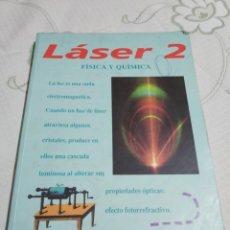 Libri di seconda mano: LASER 2.- FISICA Y QUIMICA. EDITORIAL BRUÑO. Lote 158972030