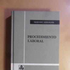Libros de segunda mano: PROCEDIMIENTO LABORAL - TEXTOS LEGALES - BOE 1981. Lote 159784786