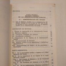 Libros de segunda mano: LEGISLACIÓN DE LA JUSTICIA ADMINISTRATIVA. CIVITAS 1985. Lote 160234502