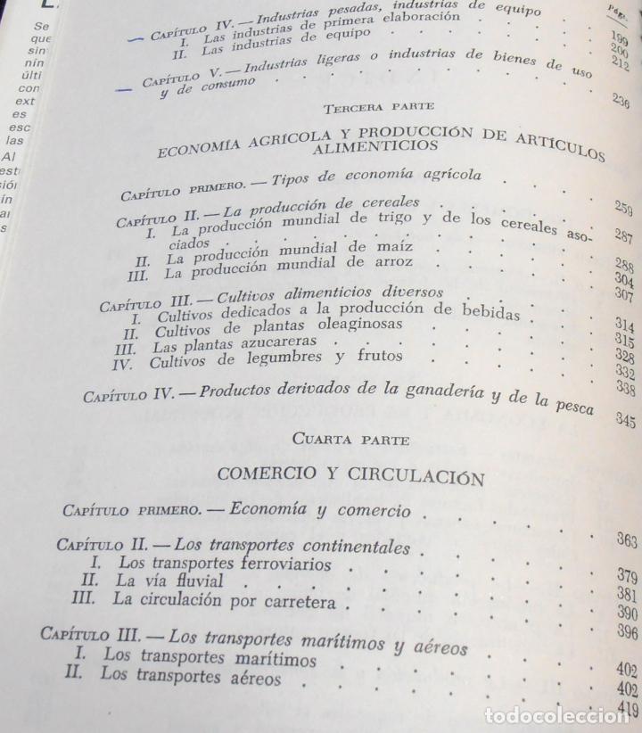 Libros de segunda mano: GEOGRAFIA ECONOMICA, PIERRE GEORGE - Foto 4 - 160485706