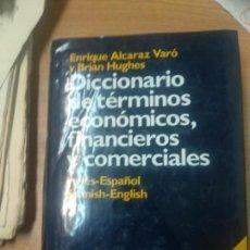 Libros de segunda mano: DICCIONARIO DE TÉRMINOS ECONÓMICOS, FINANCIEROS Y COMERCIALES. INGLÉS-ESPAÑOL SPANISH- ENGLISH.. Lote 160539982