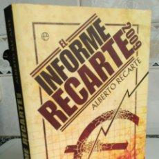 Libros de segunda mano: EL INFORME RECARTE 2009. Lote 160682581