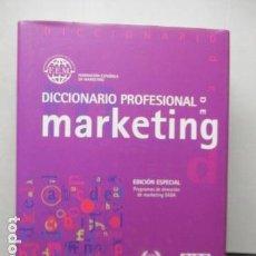 Libros de segunda mano: DICCIONARIO PROFESIONAL DE MARKETING - EDICIÓN ESPECIAL. - COMO NUEVO. Lote 161366438