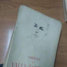 Libros de segunda mano: LIBRO - OBRAS DE VALLS-TABERNER - II - ESTUDIOS HISTORICO-JURIDICOS . Lote 162391190