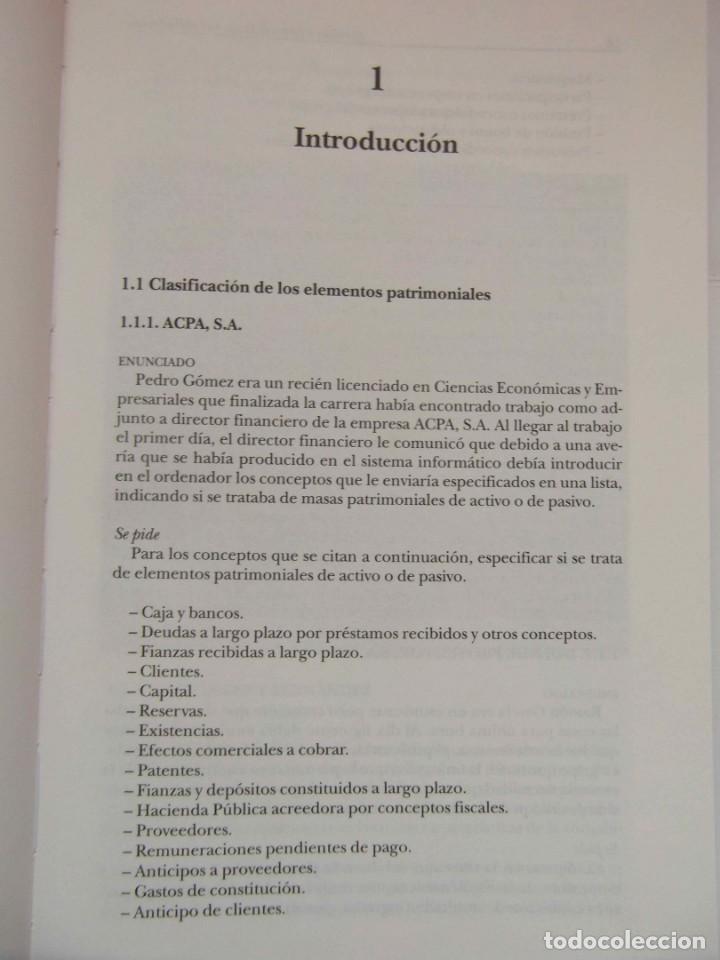 Libros de segunda mano: EJERCICIOS RESUELTOS DE CONTABILIDAD FINANCIERA. TERESA MONLLAU. 1997. DEBIBL - Foto 4 - 162841870