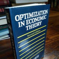 Livros em segunda mão: OPTIMIZATION UN ECONOMIC THEORY. A.K. DIXIT. Lote 162935696