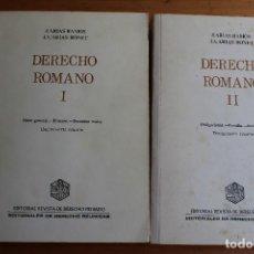 Libros de segunda mano: DERECHO ROMANO J,ARIAS RAMOS. Lote 163711962