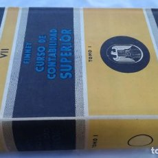 Libros de segunda mano: CURSO DE CONTABILIDAD SUPERIOR/ FINNEY/ BIBLIOTECA CONTABILIDAD SUPERIOR/ VII - TOMO 1. Lote 164125426