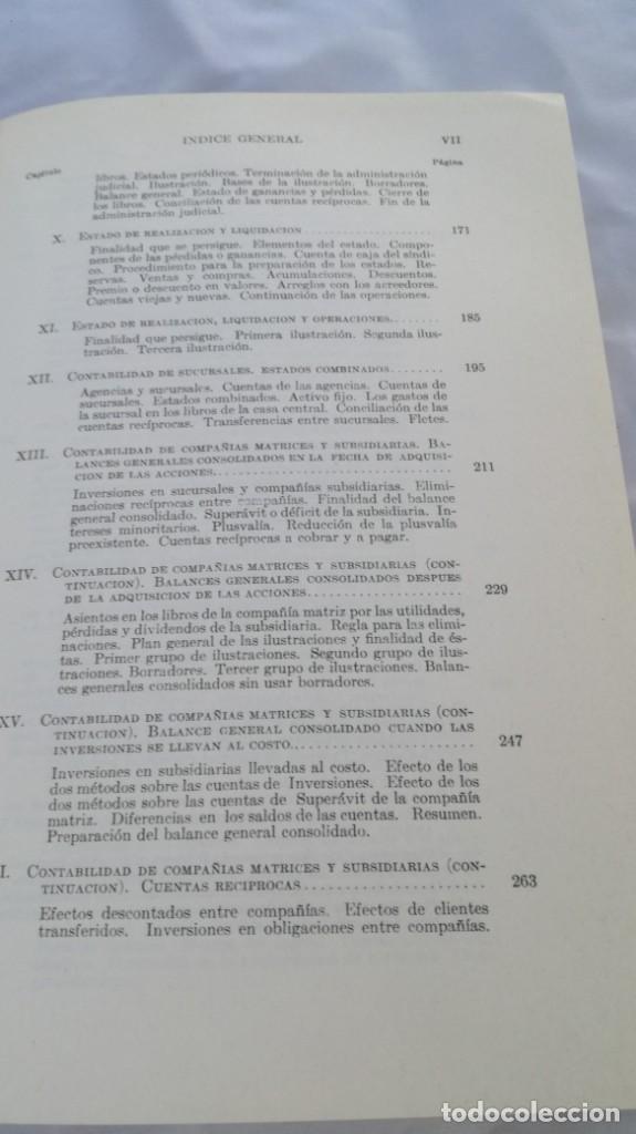 Libros de segunda mano: CURSO DE CONTABILIDAD SUPERIOR/ FINNEY/ BIBLIOTECA CONTABILIDAD SUPERIOR/ VII - TOMO 1 - Foto 9 - 164125426