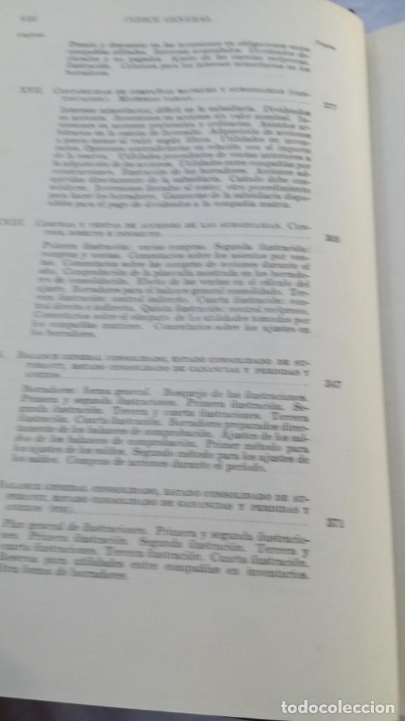 Libros de segunda mano: CURSO DE CONTABILIDAD SUPERIOR/ FINNEY/ BIBLIOTECA CONTABILIDAD SUPERIOR/ VII - TOMO 1 - Foto 10 - 164125426