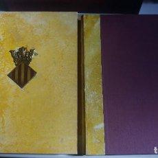Libros de segunda mano: LLIBRE DEL CONSOLAT DEL MAR. ARXIU MUNICIPAL DE VALENCIA. ACTA NOTARIAL NUMERACION. VICENT GARCIA ED. Lote 164470214