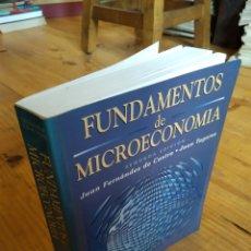 Livres d'occasion: FUNDAMENTOS DE MICROECONOMÍA. JUAN FERNÁNDEZ DE CASTRO. JUAN TUGORES. Lote 164599786