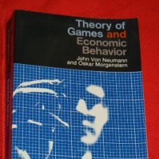 Libros de segunda mano: THEORY OF GAMES AND ECONOMIC BEHAVIOR, DE JOHN VON NEUMANN Y OSKAR MORGENSTERN - PRINCETON 1990. Lote 166526830