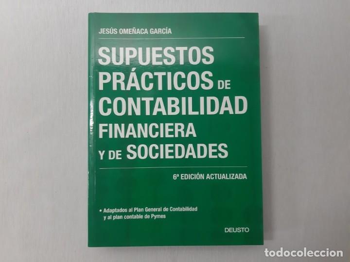 Supuestos Prácticos De Contabilidad Financiera Comprar Libros De Derecho Economía Y Comercio En Todocoleccion 167035672