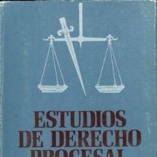 Libros de segunda mano: ESTUDIOS DE DERECHO PROCESAL. Lote 168736952