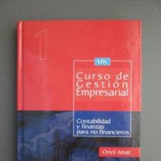 Libros de segunda mano: CURSO DE GESTION EMPRESARIAL - EDICIONES DEUSTO Y UNIVERSIDAD EUROPEA CEES 2000 - COMO NUEVO. Lote 168841584
