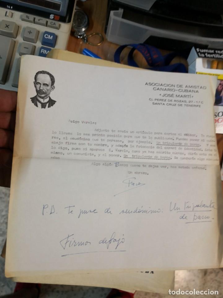 Libros de segunda mano: 3 magníficos libros REVISTA CUBANA DE DERECHO AÑOS 70 MÁS 1 CARTA Tripulante de barco - Foto 12 - 168914312