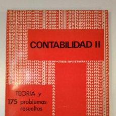 Libros de segunda mano: CONTABILIDAD II. TEORÍAS Y 175 PROBLEMAS RESUELTOS. CASHIN, JAMES A. / LERNER, JOEL L. . Lote 171206393