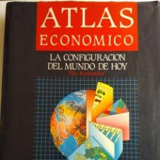 Libros de segunda mano: ATLAS ECONÓMICO. Lote 171324000