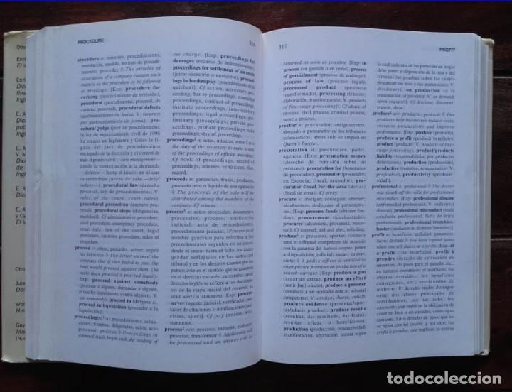 Libros de segunda mano: Diccionario de Términos Jurídicos, Inglés-Español - Foto 3 - 171695533